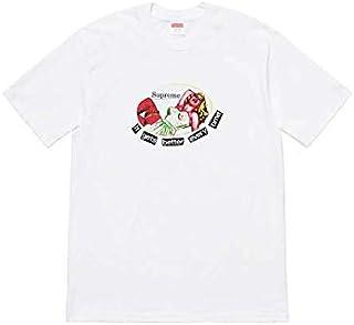 (シュプリーム) Supreme メンズ イットゲッツベターエブリタイムTシャツ ホワイト IT GETS BETTER EVERY TIME TEE SS19T59 M [並行輸入品]