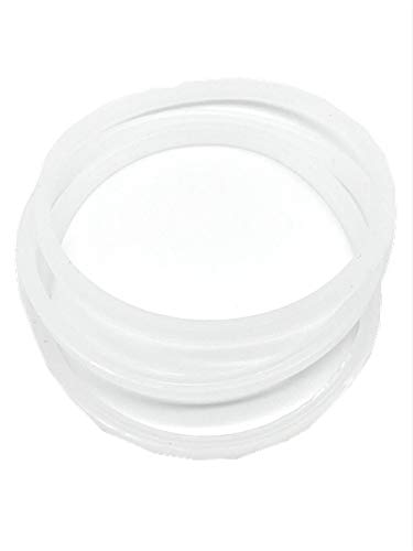 3x Rubber Gasket Replacement Parts for 2.5' 6 fins Rubber Blade Nutri Ninja BL770 30 BL771 30 BL773 30 BL780 30 Blender (NOT For any other Ninja series)