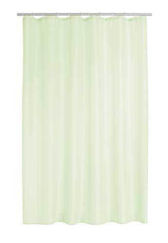 RIDDER 45355S-350 Duschvorhang Textil ca. 180x200 cm Madison pastell-grün