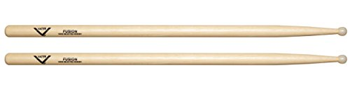 Vater Fusion Nylon Tip Hickory Drumsticks, Pair