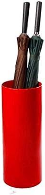 LINrxl 傘立て、プラスチック傘バケツ、ホテルオフィス多機能傘ストレージ、2色、20X45CM (Color : Red)