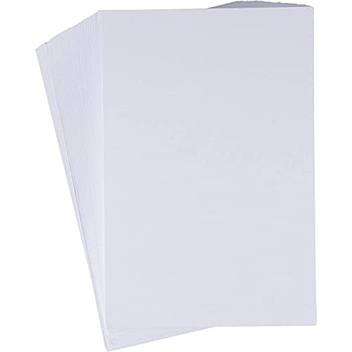 200 Pack Index Cards Blank, Flash Note Heavyweight Cardstock Paper, 4x6