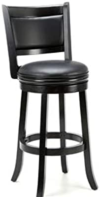 Amazon.com: Boraam 49829 Augusta Bar Height Swivel Stool, 29 ...