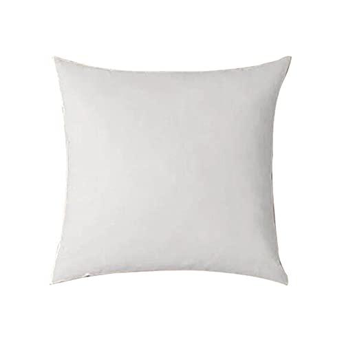 Btlesa Relleno de cojín de tela no tejida, núcleo de polipropileno, cojín de relleno, cojín decorativo para salón, dormitorio, sofá o cama