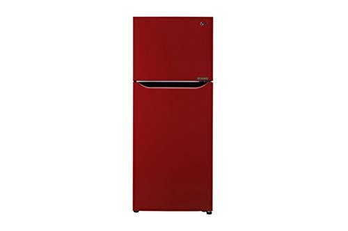 LG 260 L 3 Star Inverter Frost-Free Double Door Refrigerator (N292KPRR, Peppy Red)