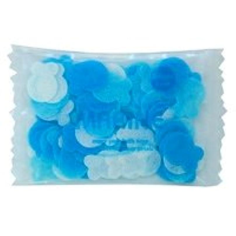 流星シャツ受信フラワーペタル バブルバス ミニパック「マリン」20個セット 穏やかで優しい気持ちになりたい日に心をなごませてくれる爽やかなマリンの香り