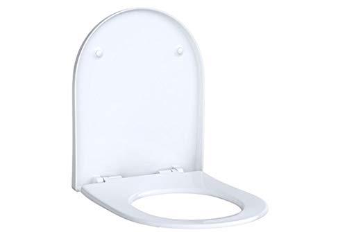 KG Acanto WC-bril Slim Wrap over antibak scharnieren verchroomd