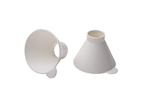 Rotho Babydesign Entonnoir pour Biberon - Blanc - 2 Pièces