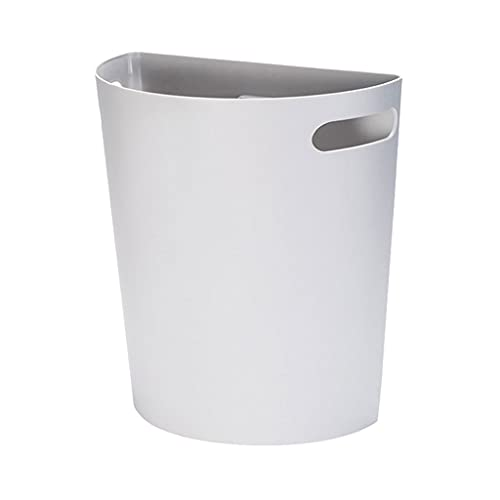 jbshop Cubo de Basura Bote de Pared Minimalista Nordica Minimalista Can Hogar Cocina Gabinete Puerta Colgando Almacenamiento Cubo Colgante Papelera de Oficina, Cocina o baño Basura Escritor