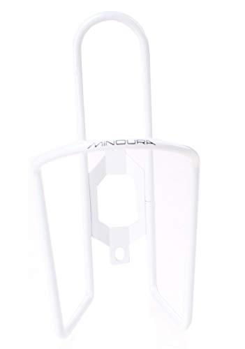 Minoura flaschenhalter 6 mm weiß