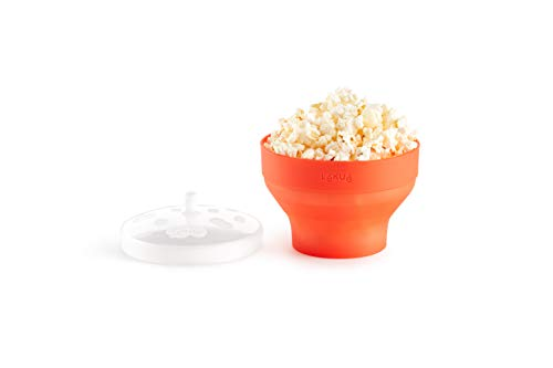 Lékué Mini Pop Corn para Preparar Palomitas en microondas, Silicona