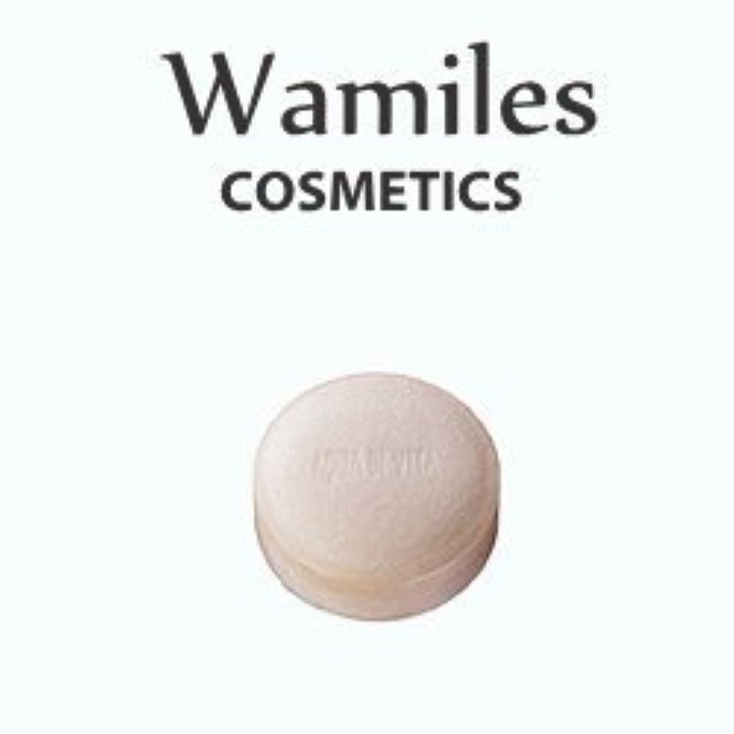 論理的に行列ジャケットwamiles/ワミレス アクア デ ヴィタ ヴィフィーセ ソープリファイナー 72g 美容 保湿
