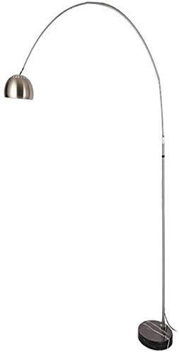 UYZ Lámpara de pie Lámpara de pie de Arco Moderna Lámpara de Lectura Que cuida los Ojos para Estudiantes/escritores/lectores (sin Bombilla), L