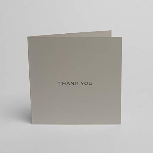 Blake Indigo Dankeskarten mit dunkelgrauen Umschlägen, 150 mm x 150 mm, 5 Stück
