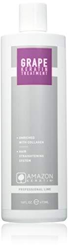 Amazon Keratin, Producto alisador de pelo - 473 ml.
