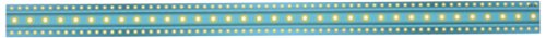 Teacher Created Resources Light Blue Marquee Magnetic Strips