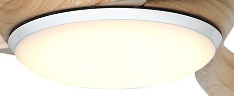 Casafan LED Anbauleuchte für Eco Regento/Eco Pallas, [Gehäusefarbe]:Weiß