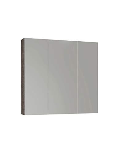 DUCHA.ES Espejo DE CAMERINO con Tres Puertas 65X80CM Blanco