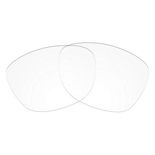 Revant Lentes de Repuesto Compatibles con Gafas de Sol Oakley Latch Beta, No Polarizados, Cristal Claro