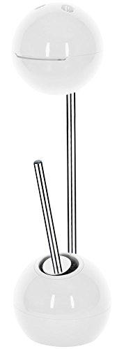 Spirella WC Bürste Rollenhalter Freestyler WC Garnitur 19,5x70cm Weiß