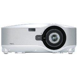 NEC NP1250 - Beamer (3700 ANSI lumen, LCD, XGA (1024x76), 2000h, 3000h, 24,4 - 32,5 mm)