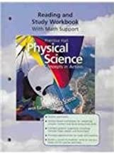 physical science reading and study workbook