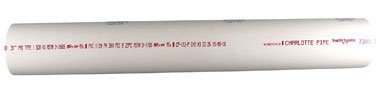 PVC PIPE SCH40 4X2' by CHARLOTTE PIPE MfrPartNo PVC 07400 0200 by Charlotte Pipe and Foundry