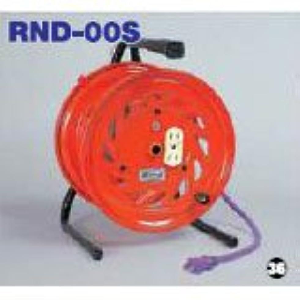 タイプライター対称南極日動 空リール【びっくリール型】 コンセント4個付 2.8kg RND-E00S
