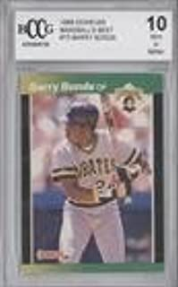 Barry Bonds Other ENCASED IN SLAB (Baseball Card) 1989 Donruss Baseball's Best - Box Set [Base] #73