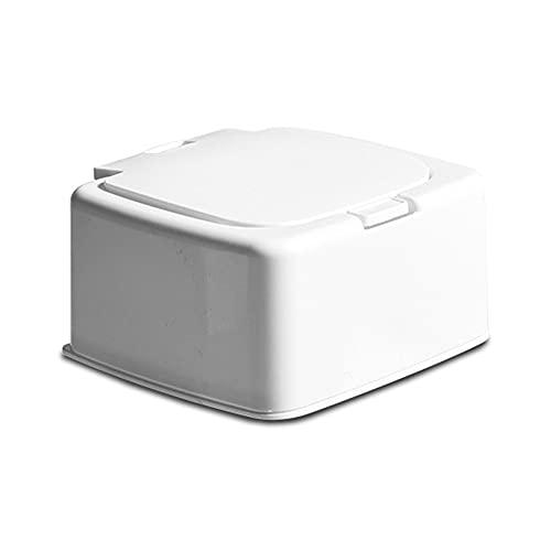 Caja de almacenamiento de plástico multifuncional Mini hisopo de algodón, organizador de escritorio, estuche para maquillaje, lápiz labial, papelería de oficina y escuela