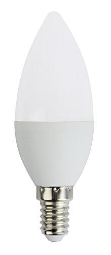 Brilliant 96697/05 A+, LED Kerzenlampe C35 easyDim, E14, 5 W 400 lm, warmweiß, 3000 K, 360 Grad, Glas, 5, 3.7 x 3.7 x 10.6 cm