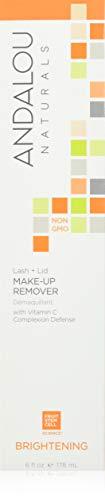 Andalou Naturals Lash + Lid Make-Up Remover, 6 Ounce