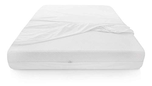 Spring Solution Mattress or Box Spring Protector,12-13 Inch, Queen, White