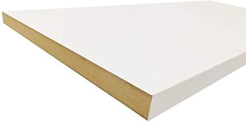 Wallniture Prismo Triangle Shelf Brackets for Floating Shelves Rustic Decor Wall Shelves Brackets Set of 4 Iron, Black