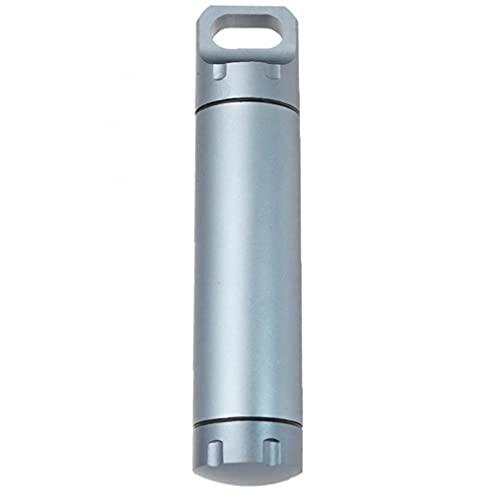 Soporte para Botellas Organizador Caja De Drogas del Tanque a Prueba De Agua Portátil para Acampar Aire Libre Yendo De Excursión