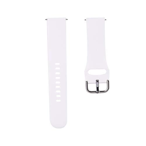 Baluue Kompatibel für Samsung Galaxy Watch Active Bands Silikon Ersatz Armbänder Smartwatch Armband Kompatibel für Galaxy Watch Active 2-20Mm