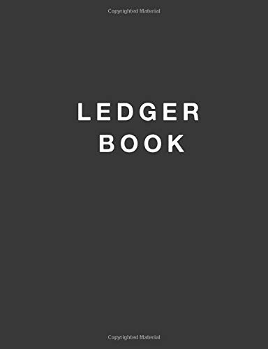 Ledger Book: Record Income and Expenses