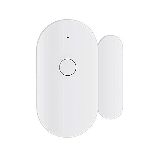 Starmood Alarma de seguridad inalámbrica independiente con sensor de ventana WiFi funciona con notificación abierta o cerrada sin hub para casa inteligente