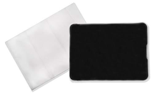 Moor-Wärmekissen mit Naturmoor-Füllung 28,5 x 38,5 cm & Vlieshülle - Qualitätsprodukt von axion