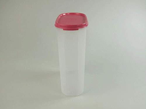 Tupperware confederado 2,3 Liter Colour de rosa 2300 ML Cómplices tarro de...