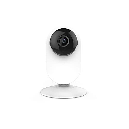 JIEZ Cámara casera 1080p Sistema de vigilancia de Seguridad inalámbrico Monitor de bebé Visión Nocturna