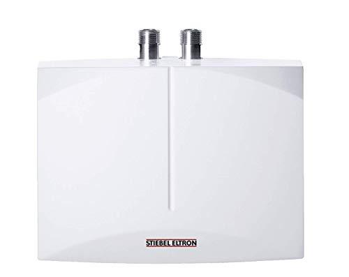 Stiebel Eltron hydraulischer Klein-Durchlauferhitzer DNM 3 für Handwaschbecken, 3,5 kW, 2 l/min., drucklos, Über-/Untertischmontage, steckerfertig, 185411