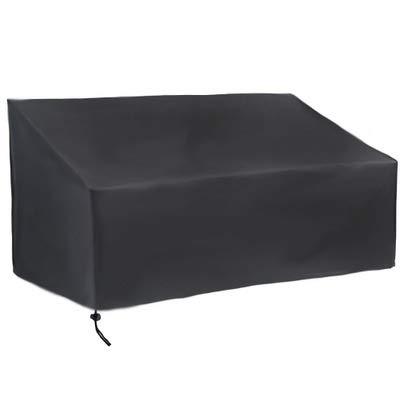 Cylficl Möbelbezug Außenbänke Staubschutz, Möbelbezüge (Color : 420D, Size : 163x66x89cm)