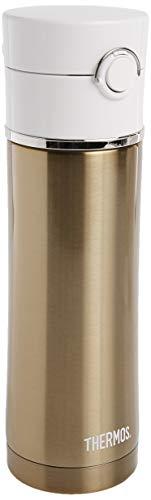 Thermos Sipp 16 onzas de acero inoxidable Termo botella, Oro rosa