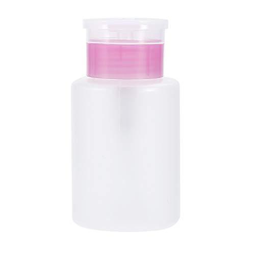 Love lamp 200 / 150ml vides Ongles en Plastique Liquide conteneurs Remover Presse Polonaise de pompage Bouteille Distributeur for Nail Art UV Gel Nettoyant (Color : Dark Khaki, Material : 1pc)