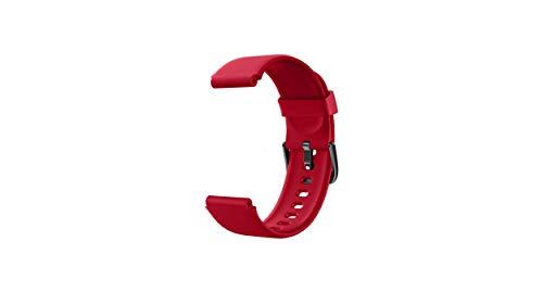LIFEBEE Pulseras de Repuesto, Correa de Repuesto para Reloj de Actividad física ID205 ID205L ID205U (Rojo)
