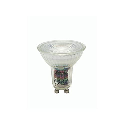 Ampoule LED Spot GU10 Dimmable Culot GU10 - Spot LED Ampoule GU10 Angle d'éclairage 36° - Ampoule GU10 LED 6,5W équivalant 50W 345 Lumens - Ampoule LED GU10 Lumière Blanc Chaud - VG50SD Xanlite
