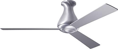 Modern Fan Co ALT-FM-BA-42-AL-NL-001 Contemporary Modern 42``Ceiling Fan from Altus Collection in Pwt, Nckl, B/S, Slvr. Finish, 27.00 inches