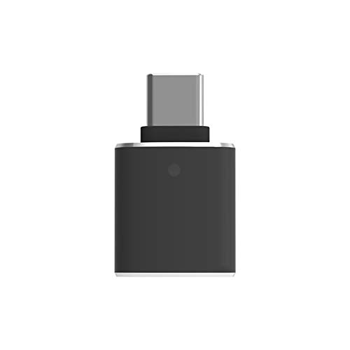 Adaptador USB C a USB 3.0, adaptador A a C, con luz de control, compatible con Huawei Mate 20, MacBook Pro 2019/2018/2017/Air 2018, Samsung Galaxy