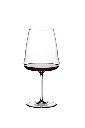 Riedel Winewings Cabernet Sauvignon - Copa de vino (mango único, transparente)